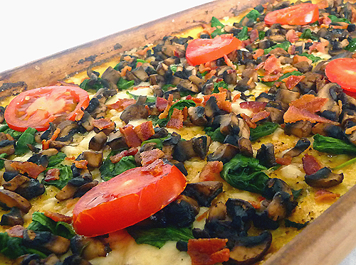 Polenta-pizza-pan